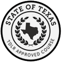 Texas TDLR Approved Seal